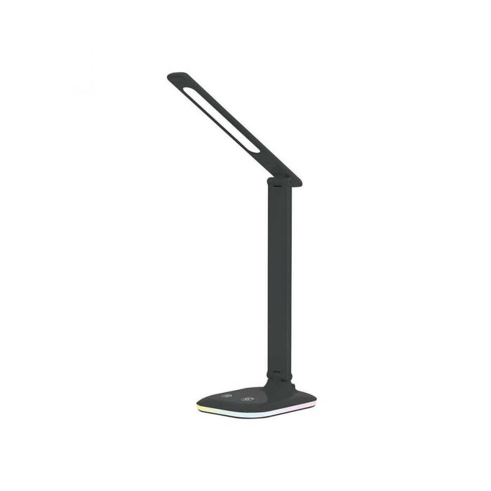 מנורת שולחן 8W VITO שחור+DIM+CCT+RGB