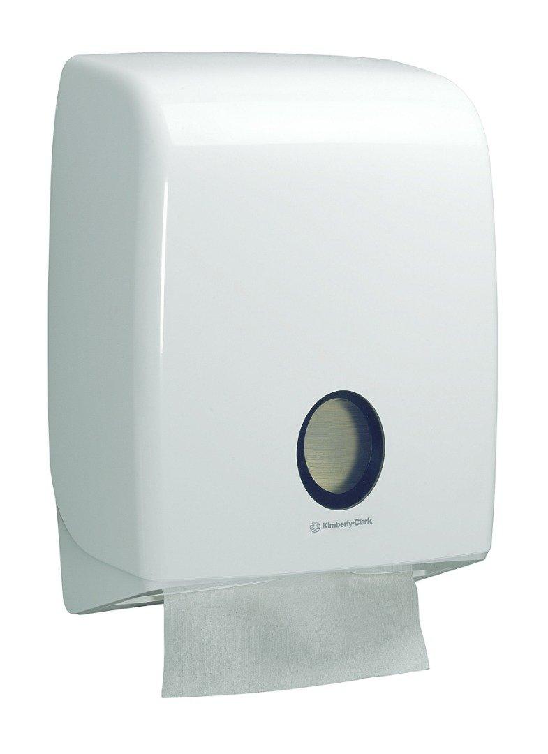 מתקן למגבות ידיים צץ רץ רחב Aquarius 6954 - צבע לבן